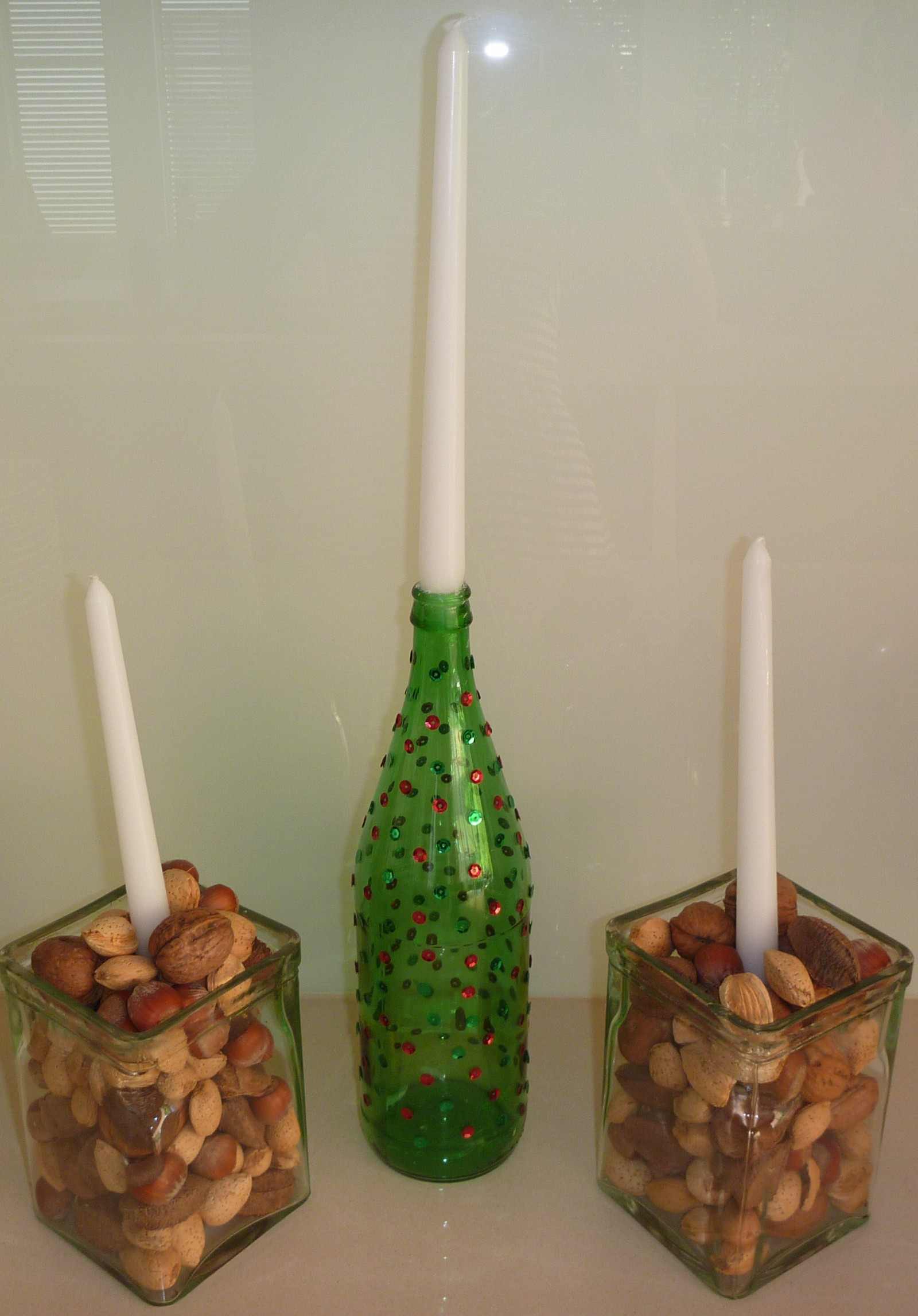 Christmas candle creations