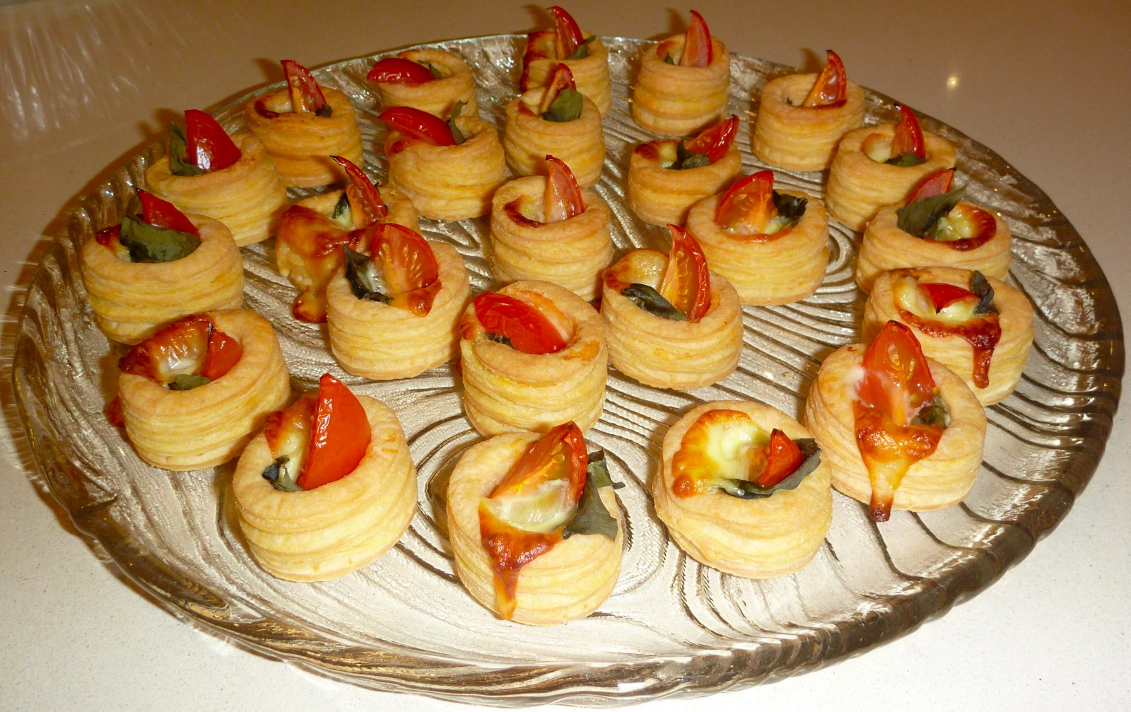 Christmas vol au vents