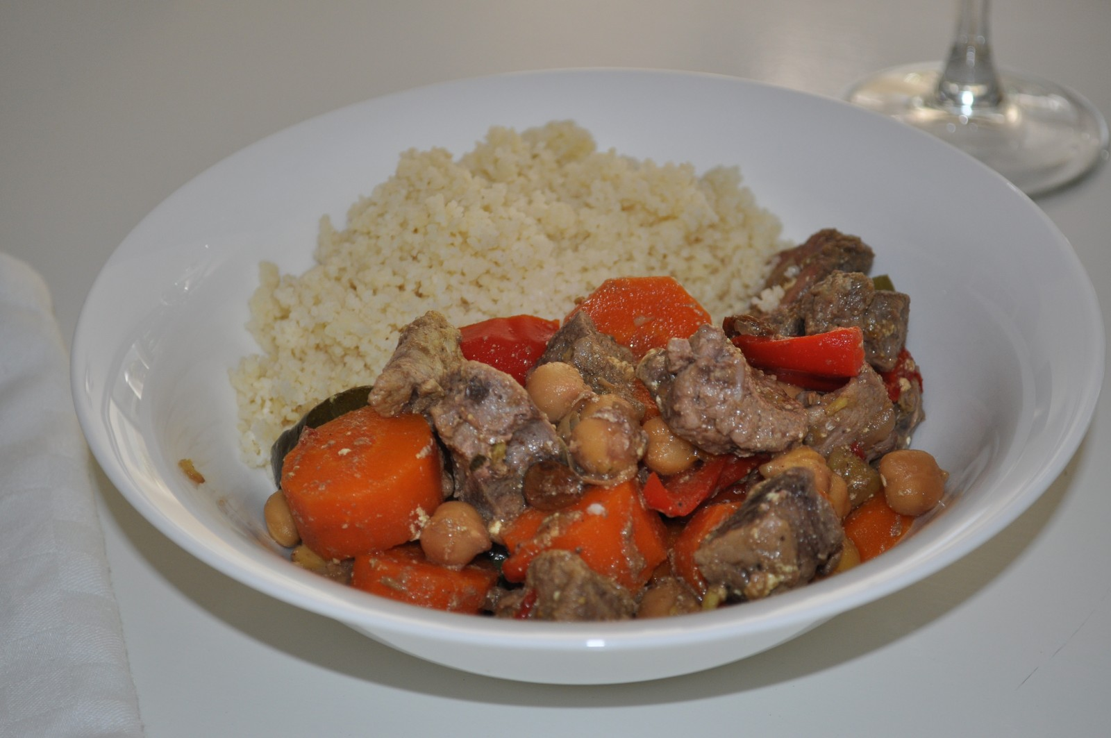 Moroccan lamb curry