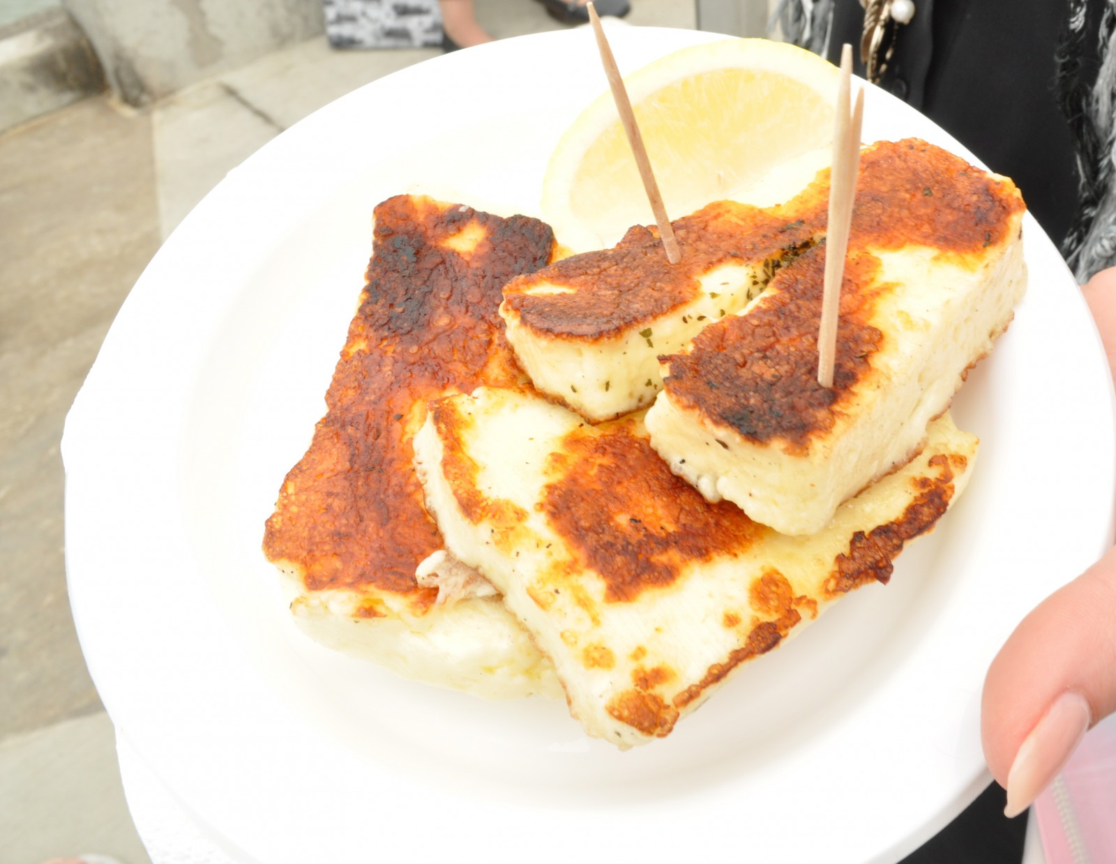 Olympus Cheese grilled halloumi