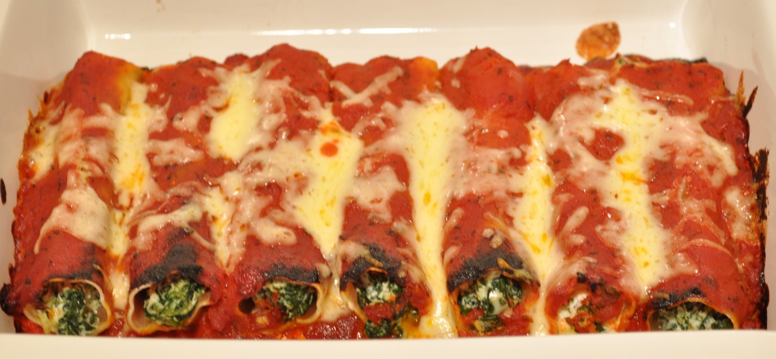 mascarpone sauces cannelloni with swiss chard and fresh goat cheese ...