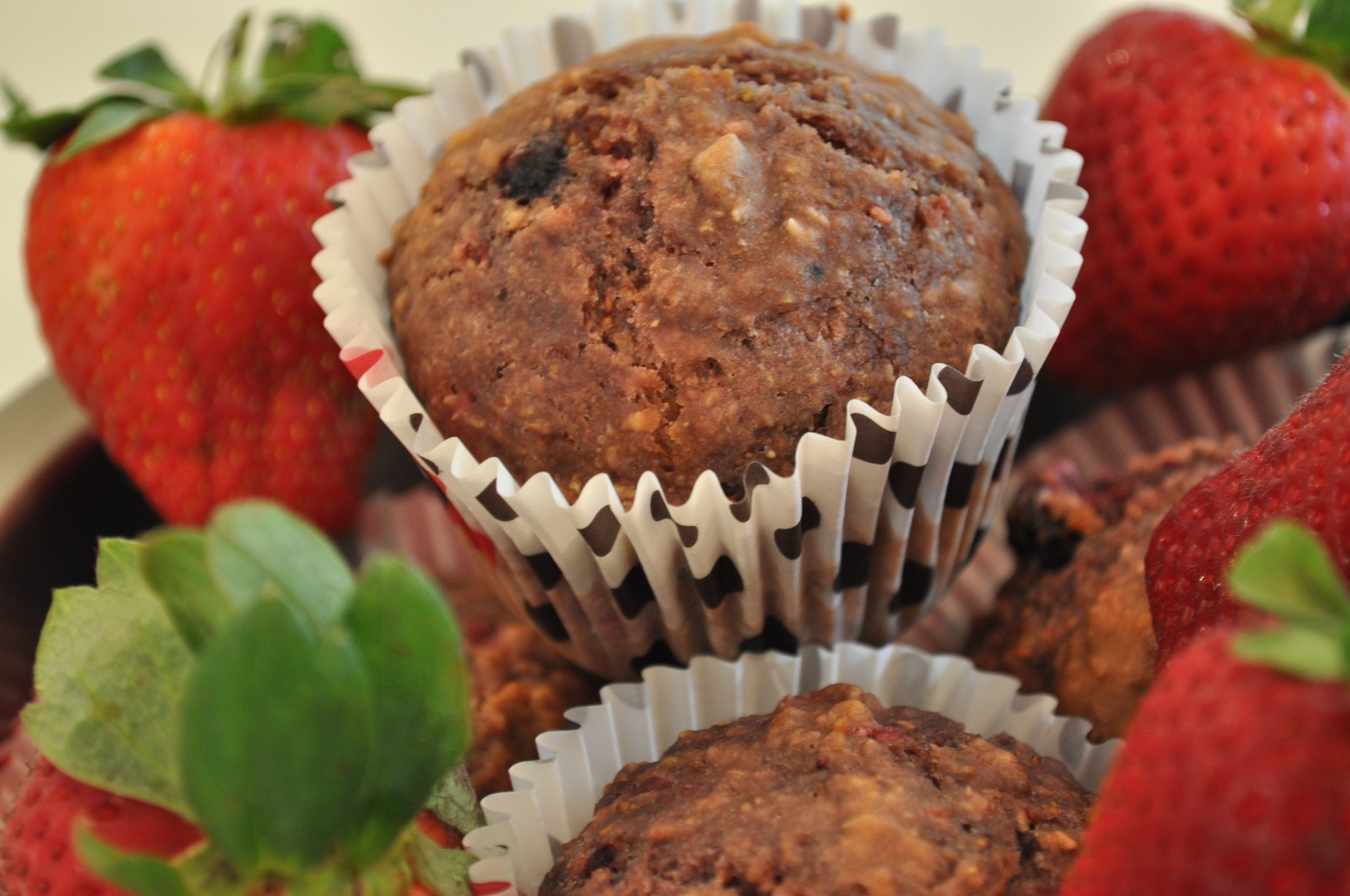 Low calorie berry muffins