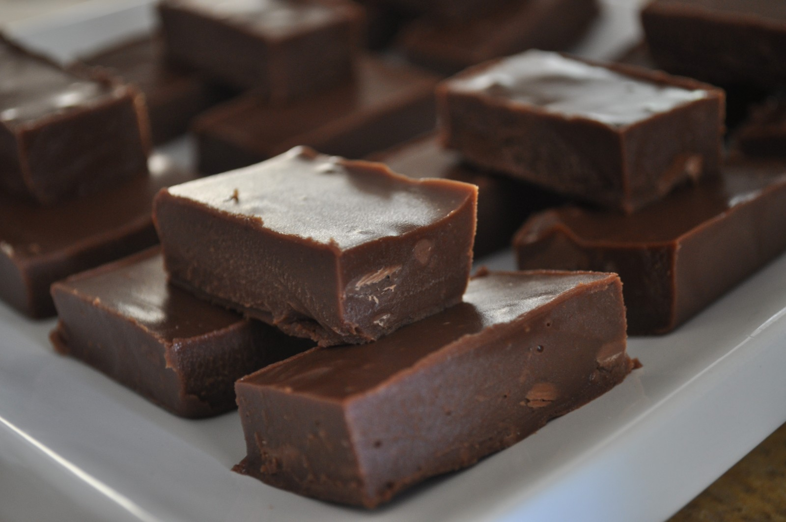Choc-cinnamon fudge