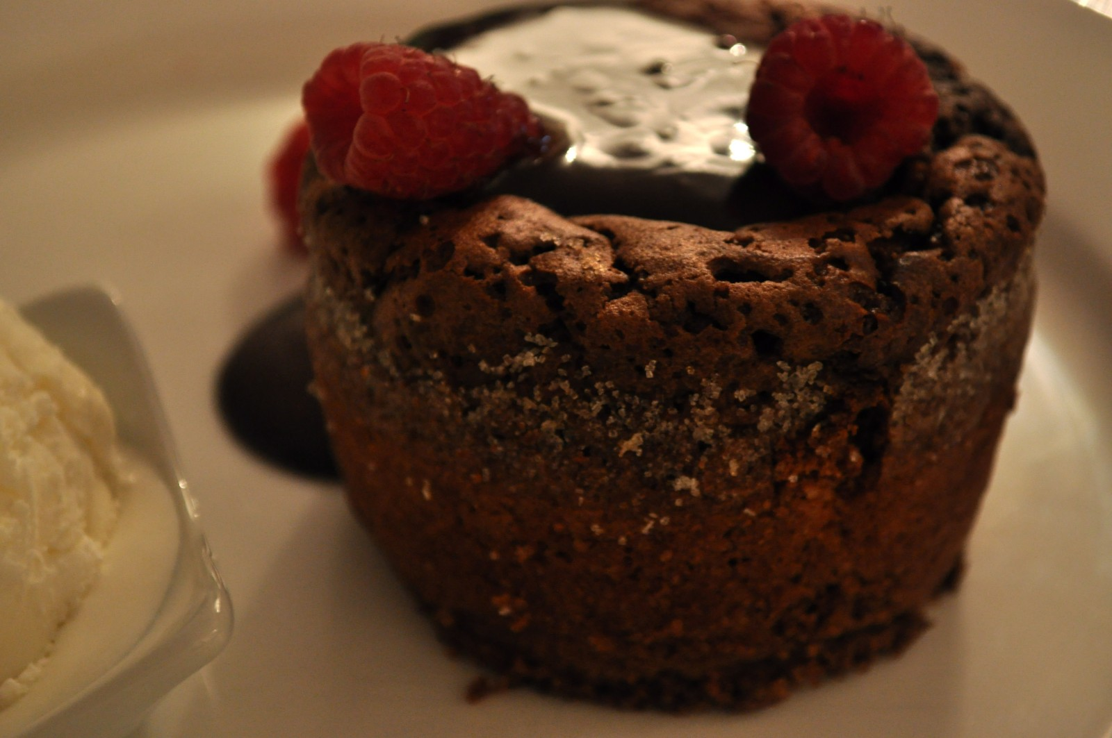Runny heart pudding