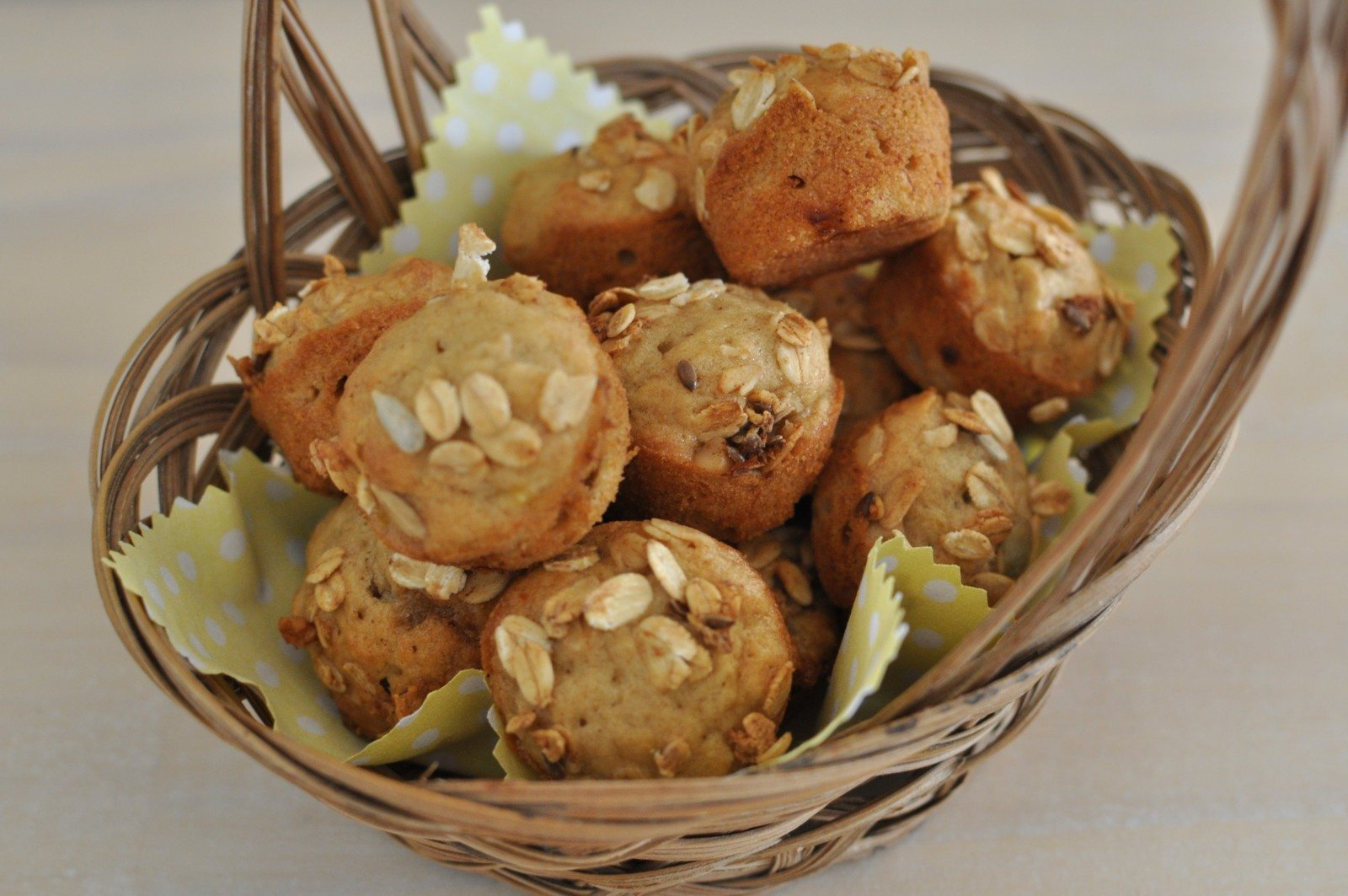 Banana bread muffins