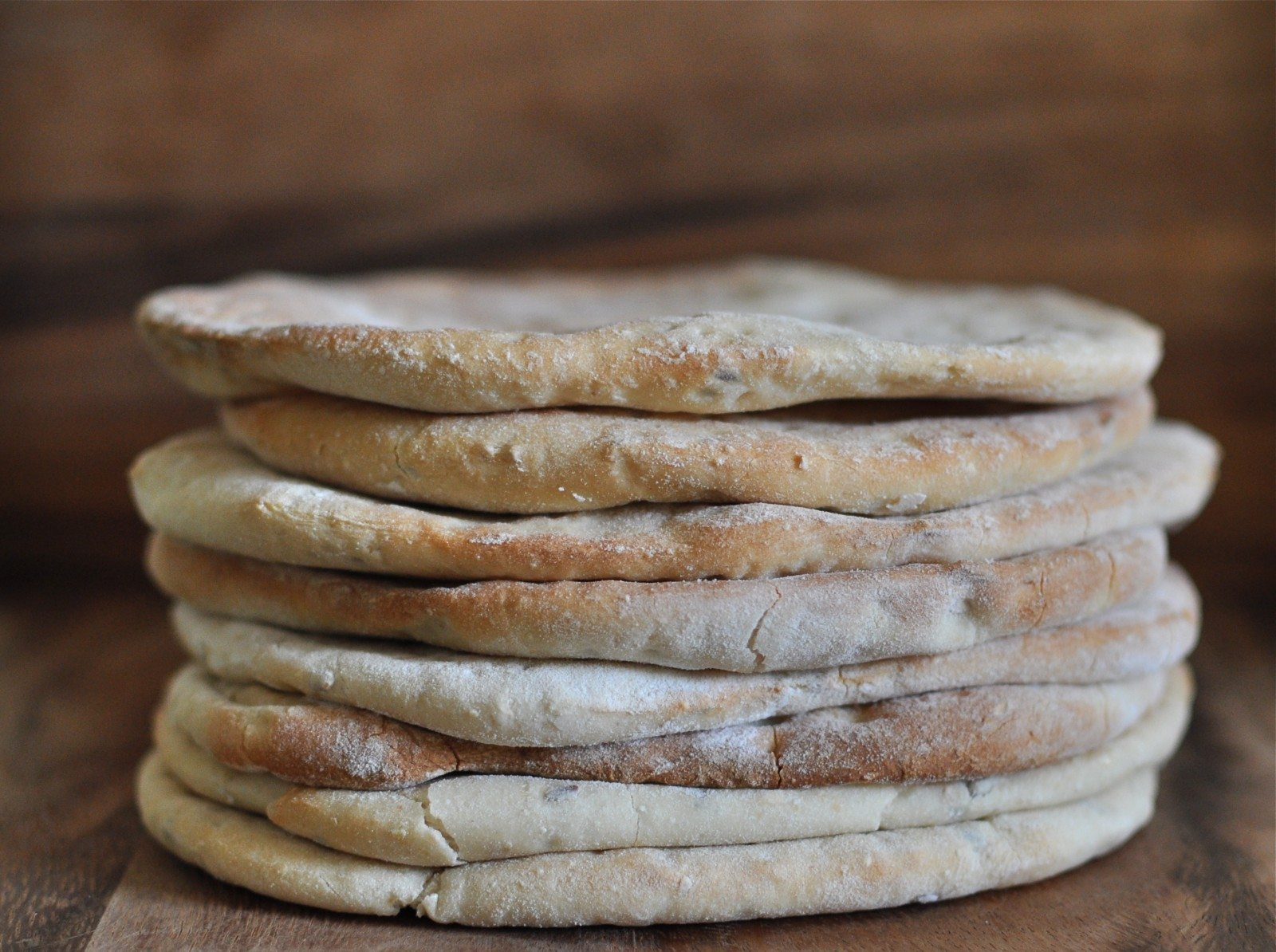 Easy peasy pita bread