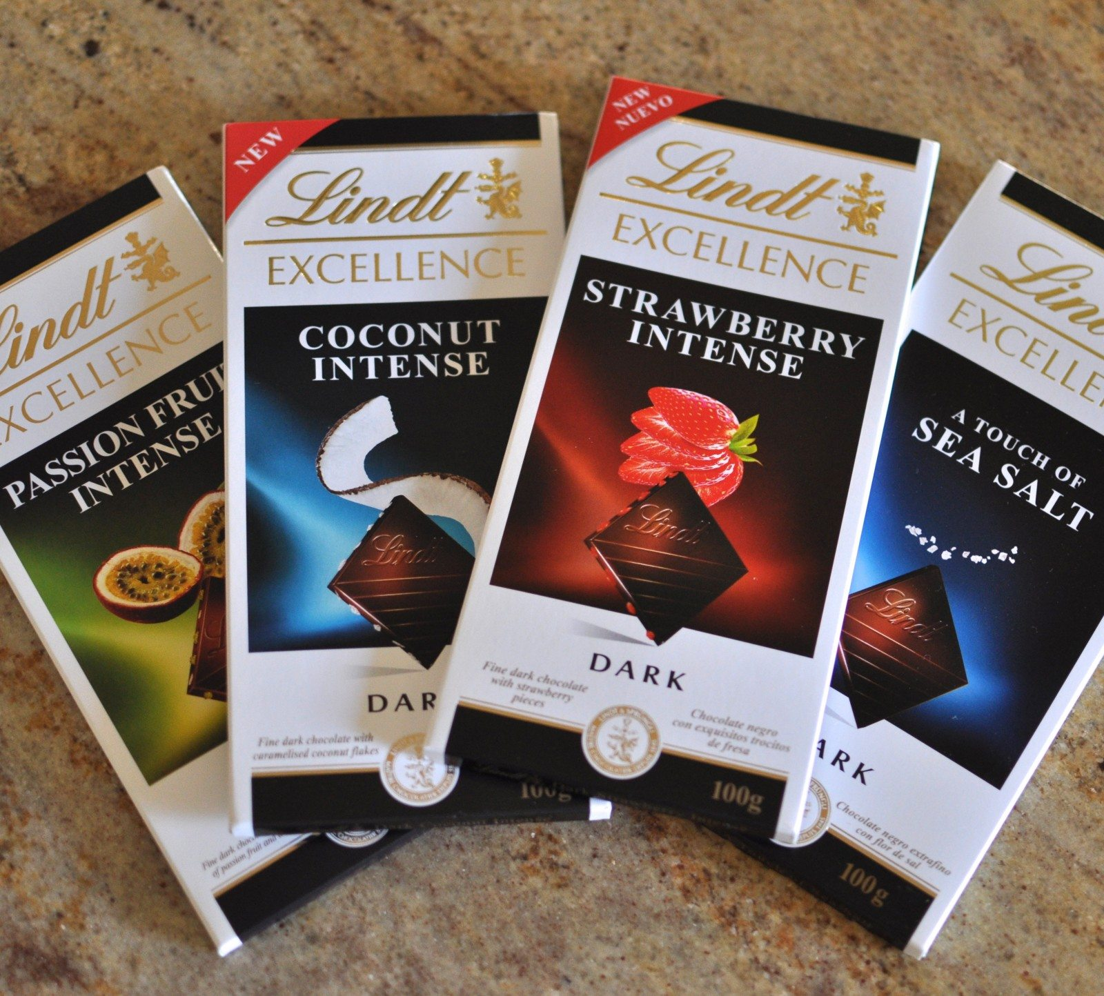 New Lindt chocolate selection