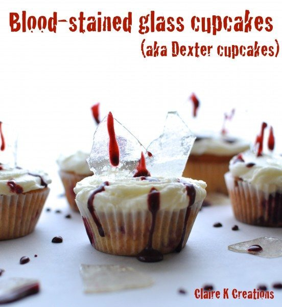 Dexter cupcakes