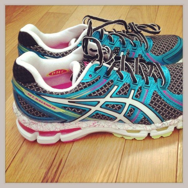 My new runners - must exercise to be a food blogger & eat so much!