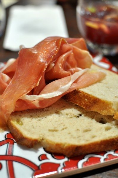 Jamon serano - sweet and soft mountain ham