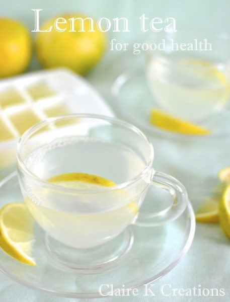 Lemon tea for good health