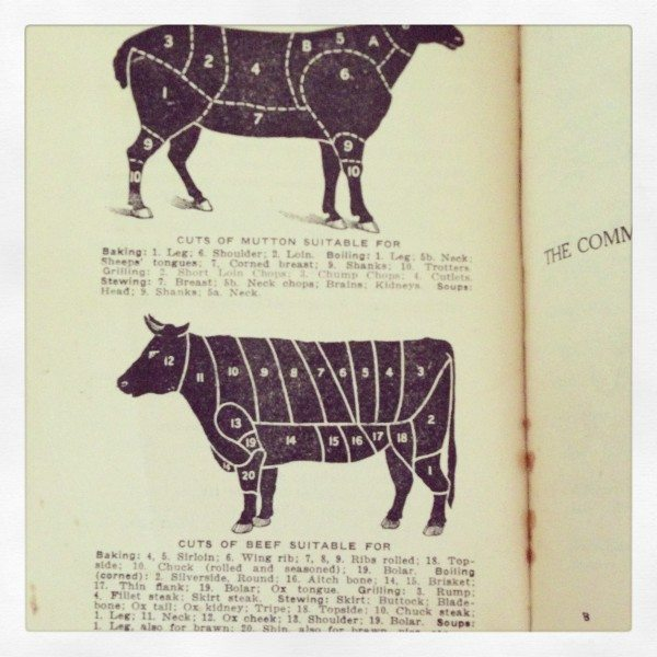 Meat selection tips from my Grandma's 1940s Cookbook