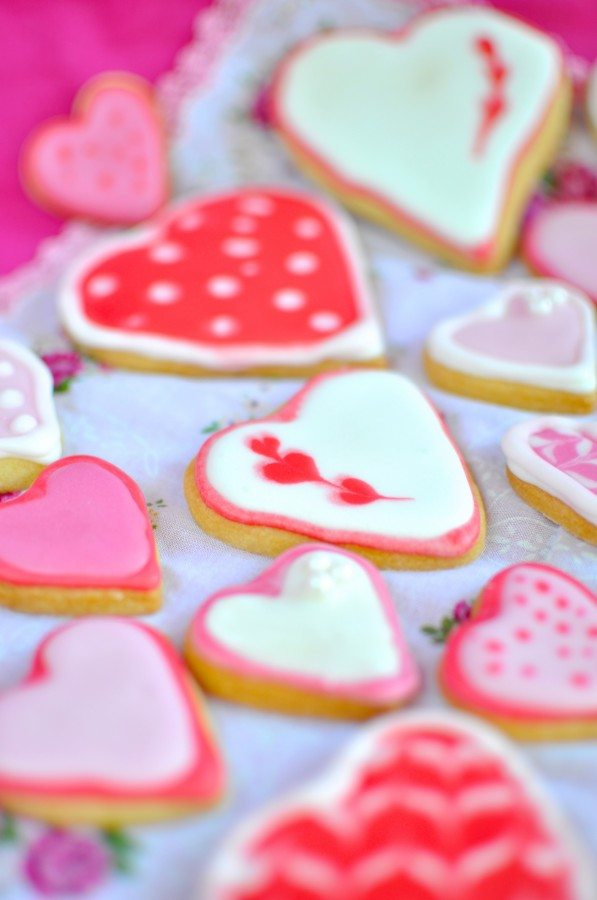 Valentine&#039;s biscuits