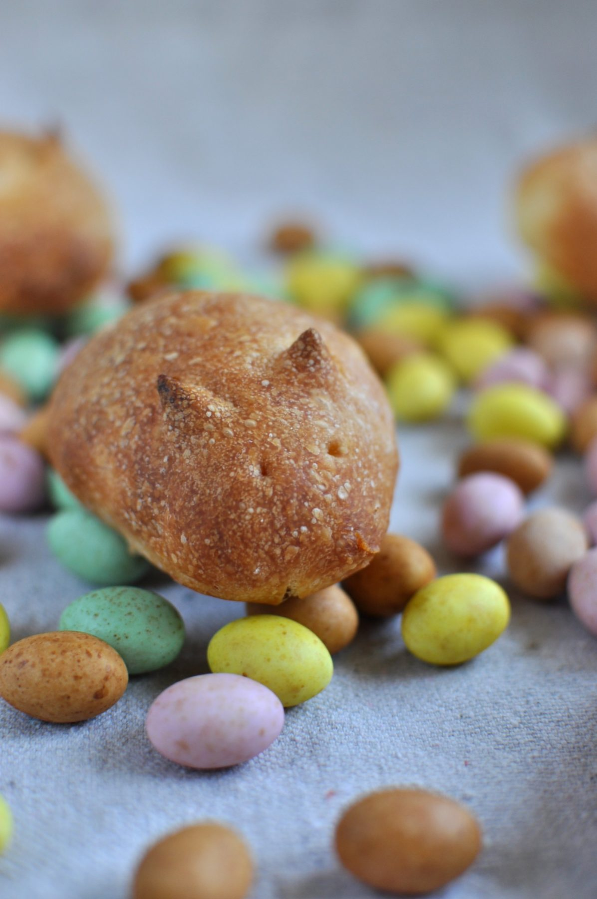 Easter 'bunny' bread