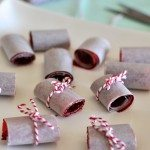 Berry mango roll ups